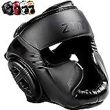 ZTTY Boxing Head Guard Head Protection MMA Muay Thai Kickboxing Training Head Gear