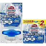 【まとめ買い】トイレマジックリン トイレ用洗剤 流すだけで勝手にキレイ ブーケの香り 本体+付替用