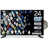 東京Deco 24V型 ハイビジョン DVDプレーヤー内蔵 液晶テレビ LEDバックライト [外付けHDD録画対応] H…