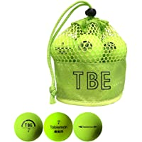 TOBIEMON(飛衛門)日本正規品 蛍光マットカラーボール メッシュバッグ入り 2ピースゴルフボール 1ダース(12個…