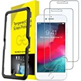 JETech Screen Protector for iPhone 8 Plus, iPhone 7 Plus, iPhone 6s Plus, iPhone 6 Plus, 5.5-Inch, Tempered Glass Film with E