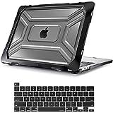 MOSISO MacBook Pro 13インチケース 2020年リリース A2338 M1 A2289 A2251 高耐久プラスチックハードシェルケース TPUバンパー&キーボードカバー付き タッチバー付きMacBook Pro 13インチにのみ対