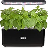 iDOO Hydroponics Growing System, Smart Indoor Herb Garden Kit with LED Grow Light, Indoor Gardening for Home Kitchen, Automat