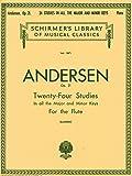 アンデルセン: フルートのための24の練習曲 Op.21/シャーマー社