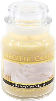 A Cheerful Giver 6oz Creamy Vanilla Cheerful Jar Candle