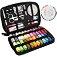 Sewing Kit Luxebell 92 Sewing Accessories Portable Travel Household Needlework Box for Girls Adults, Sewing Set for Home Trav