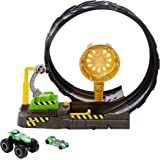 Hot Wheels Monster Trucks Epic Loop Challenge Play Set Includes Monster Truck and 1:64 Scale Hot Wheels car Ages 3 and Older