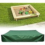 サンドボックスカバー、防水サンドピットプールカバー防塵サンドボックスキャノピー、引きひも付き、持ち運びが簡単 (120x120cm)