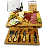 Radiant Royals Unique Housewarming Gifts, Men, Women Birthday, Thanksgiving Gift   Extra Large Cheese Plate Board with Hidden