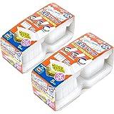 ストリックスデザイン 冷凍用 小分け 保存パック 日本製 Sサイズ 8枚×2個 半透明 100ml 保存容器 電子レンジ対応 目盛り付き 積み重ね可 ご飯 おかず 離乳食 HT-130