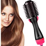 Mclaurin Hair Air Brush,3 in 1 Hot Air Brush Styler and Dryer,One Step & Volumizer Brush Blow Dryer Styler for Rotating Strai