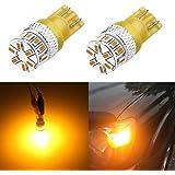 Alla Lighting Super Bright T10 194 LED Bulb High Power 3014 18-SMD 12V LED 194 168 2825 175 W5W Bulb Wedge for License Plate