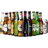 ビールセット 世界のビール12本飲み比べギフトセット スペイン産高級ビール入!スペイン・ドイツ・ベルギーなどビール本場よ…