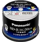 Panasonic 録画用4倍速ブルーレイディスク片面2層50GB(追記型)スピンドル50枚 LM-BRS50L50S…