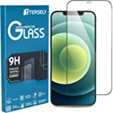 T Tersely 6D Full Cover Screen Protector for Apple iPhone 12 Pro Max, Tempered Glass Full Coverage Case-Friendly Film Guard F