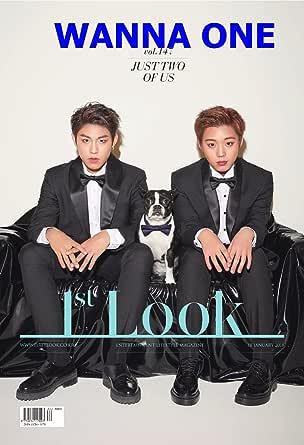 1ST LOOK 147号(2018)表紙:WANNA ONE Park Ji Hoon & Park Woo Jin【5点構成】本册+記事翻訳+WANNA ONEポスター+ WANNA ONEはがき2枚/韓国版/ WANNA ONE/1STLOOK 147号