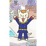 ねこねこ日本史 FVGA(480×800)壁紙 「長崎出島は、いつでも大騒ぎ!」