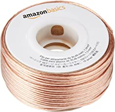 Amazonベーシック 16ゲージ スピーカーケーブル 約30メートル