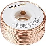 Amazonベーシック ワイヤーケーブル スピーカー用 16ゲージ 約30.5m 4本パック