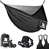 Covacure Camping Hammock with Mosquito Net - Lightweight Double Hammock,Hold Up to 772lbs,Portable Hammocks for Indoor,Outdoo