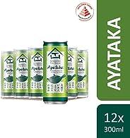 Authentic Tea House Ayataka Green Tea, 300ml (Pack of 12)