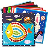 Jar Melo Mosaics Stickers; Animal Homeland; 8 Sheets; Mosaics Painting; Sticker-by-Number