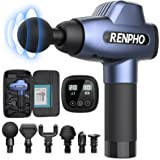 Massage Gun, RENPHO C3 Deep Tissue Muscle Massager, Powerful Percussion Massager Handheld with Portable Case for Home Gym Wor