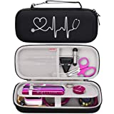 BOVKE Travel Case for 3M Littmann Classic III, Lightweight II S.E, Cardiology IV Diagnostic, MDF Acoustica Deluxe Stethoscope