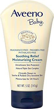 Aveeno Baby Soothing Relief Moisturizing Cream, 141g
