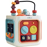 Konig Kids 6 in 1 Baby Activity Cube Play Center Early Educational Toy
