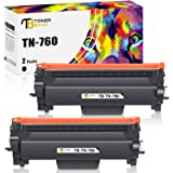 Toner Bank Compatible Toner Cartridge Replacement for Brother TN760 TN-760 TN730 TN-730 TN 730 for MFC-L2710DW DCP-L2550DW HL