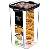 Sistema Ultra Square Food Container, 1.3L, Black