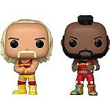 Funko Pop! WWE - Hulk Hogan & Mr. T, Hulkamania 2 Pack, Amazon Exclusive (51720)