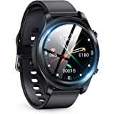 スマートウォッチ 最新 Bluetooth5.2 smart watch 活動量計 多機能 スマートブレスレット フルタッチスクリーン スポーツウォッチ IP68防水 ストップウォッチ 万歩計 歩数計 腕時計 目覚まし時計 長座注意 多運動モード 着