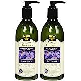 Avalon Organics Lavender Hand & Body Lotion, 12 Oz (Pack of 2)