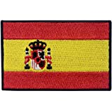 Spain Flag Embroidered Patch Spanish Iron On Sew On National Emblem