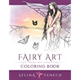 Fairy Art Coloring Book: 1