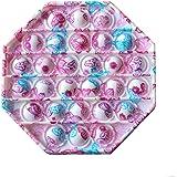 AHEYE Push pop pop Bubble Sensory Fidget Toy-Autism Special Needs Stress Reliever Silicone Stress Reliever Toy-Squeeze Sensor