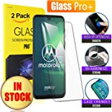 Glass Pro+ for Motorola Moto G8 Plus Scratch Resistant Tempered Glass LCD Screen Protector Film Guard (2 Pack)