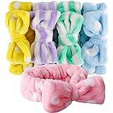 Bow HeadBands, Teenitor Women Headbands for Makeup Cosmetic Facial Shower Spa Elastic Hair Band Hairlace Headband for Baby gi