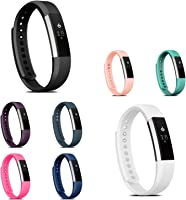 Fitbit Alta HR/Fitbit Alta Replacement Band, Zodaca Colorful Replacement Band Adjustable Wristband with Double Clasp for...