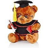 Yixiang Graduation Bear - Graduation Plush Bear, Stuffed Animal Bear with Glasses, Grad Cap, Diploma and Props - Graduation G