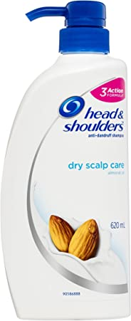 Head & Shoulders Dry Scalp Care Anti-Dandruff Shampoo with Almond Oil 620ml