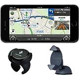 NAVITIME (ナビタイム) カーナビタイムスターターセット(カーナビタイム365日ライセンス・カーナビリモコン・車載ホルダー)ドラレコ ポータブルナビ【Android端末・iPhone対応、地図自動更新機能付】 ドライブレコーダー Apple CarPlayにも対応!