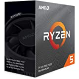 AMD Ryzen 5 3600 3.6 GHz 6-Core/12 Threads AM4 Processor with Wraith Stealth Cooler, 100-100000031BOX