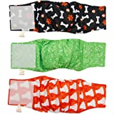 Male Dog Wraps Washable & Reusable by PETTING IS CARING - Belly Band Diapers Materials Durable Machine Washable Simple Soluti