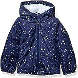 OshKosh B'Gosh Girls' Little Midweight Jacket with Fleece Lining, Color-Changing Unicorn On Navy, 6X