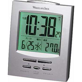 GENTOS WAVECATCHER 電波目覚まし時計 温度表示 SA-917R