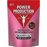 グリコ パワープロダクション マックスロード ホエイ プロテイン ストロベリー味 1.0kg [使用目安 約50食分] たんぱく質 含有率70.3%(無水物換算値) 8種類の水溶性 ビタミン カルシウム 鉄 配合