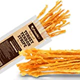AFreschi Turkey Tendon Twists for Dogs, Premium All-Natural, Hypoallergenic Dog Chew Treat, Easy to Digest, Alternative to Ra
